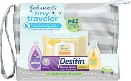 johnsons, best kids toiletry bags