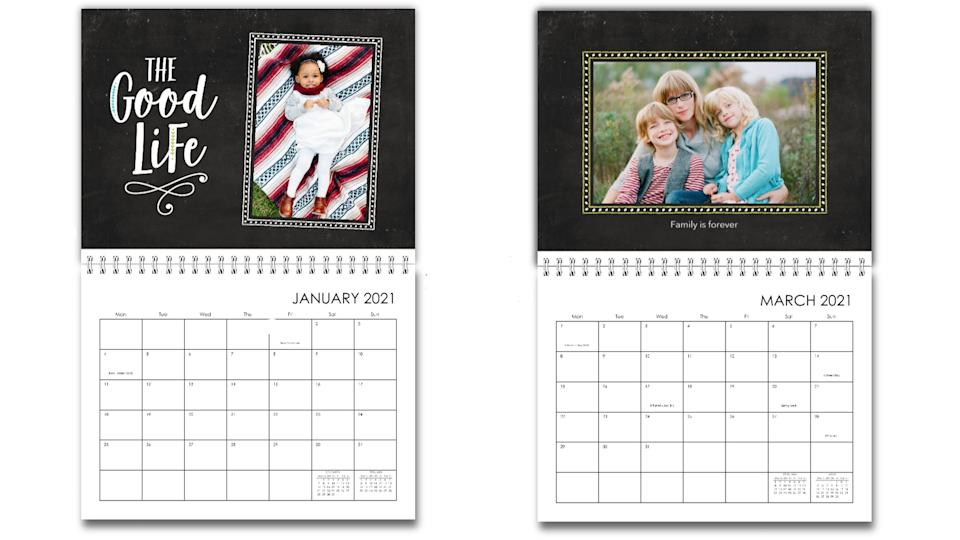 Best gifts for grandpa: Family calendar