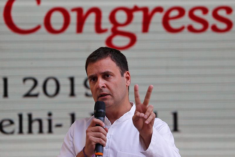Rahul Gandhi Hints at Withdrawing Candidates in Delhi If AAP Drops Condition of Haryana Alliance