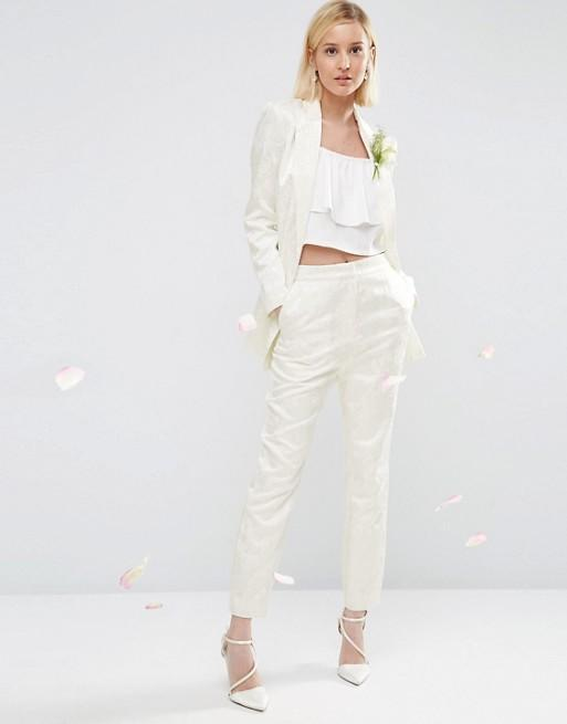 <p>A far more affordable option, this ASOS cord would make a great addition to any woman's wardrobe. Trousers £55, blazer £80. </p>