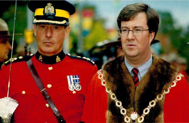 Jim Watson, seen in 1999, was the youngest mayor in Ottawa's history.