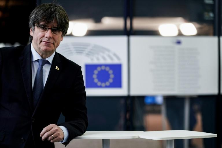 Being a member of the European parliament gives Puigdemont immunity from prosecution in Spain, something Madrid would like to see lifted