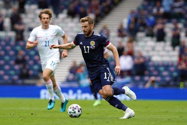 Stuart Armstrong started for Scotland