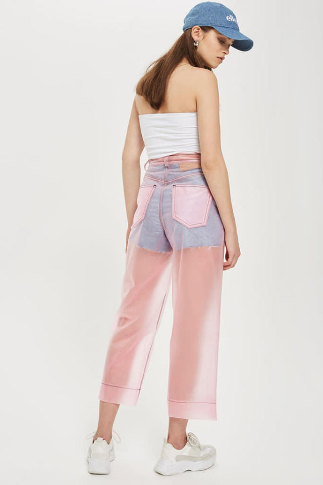 Pink transparent pants from Topshop (Credit: Topshop)