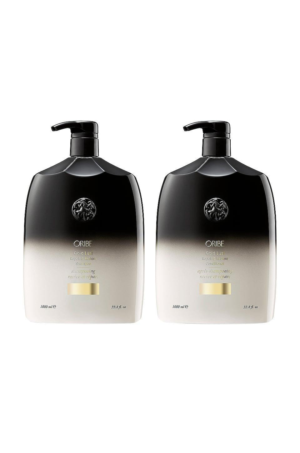<p>Treat your hair to this luxurious <span>Oribe Gold Lust Liter Set</span> ($295).</p>