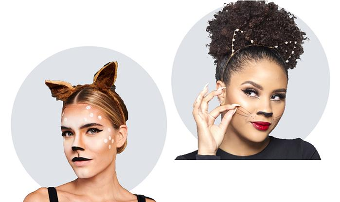 The easy and affordable way to nail a great costume can be found in Walmart's beauty section. (Photo: Walmart)