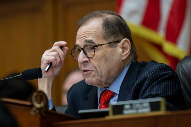 PHOTO: House Judiciary Committee Chairman Jerrold Nadler questions FBI Director Christopher Wray as he testifies during an oversight hearing of the House Judiciary Committee on Capitol Hill, Feb. 5, 2020 in Washington. (Alex Brandon/AP)