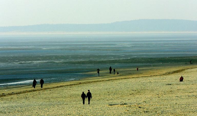 The bodies were found on the beach off the town of Le Crotoy on the northern French coast