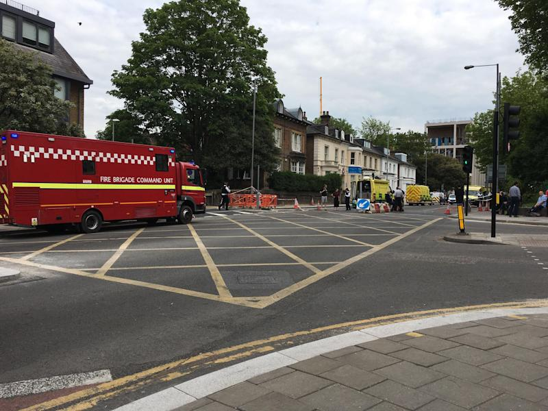 Over 1,500 residents were evacuated after the bomb was found on Thursday (Richard Parry)