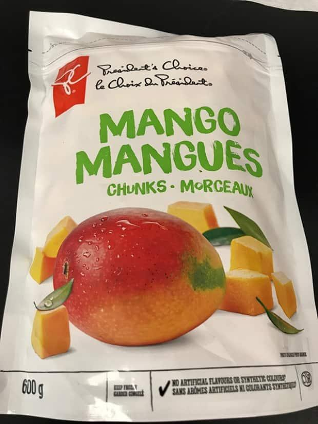 The affected products are all sold by Nature's Touch Frozen Food Inc.  (Canadian Food Inspection Agency  - image credit)