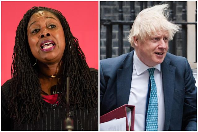 Dawn Butler accused Boris Johnson of 'literally sending people to catch the virus'. (Getty Images)