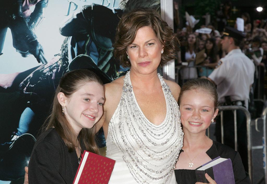 """<a href=""""http://movies.yahoo.com/movie/contributor/1800023339"""">Marcia Gay Harden</a> and guests at the New York premiere of <a href=""""http://movies.yahoo.com/movie/1809791044/info"""">Harry Potter and the Half-Blood Prince</a> - 07/09/2009"""