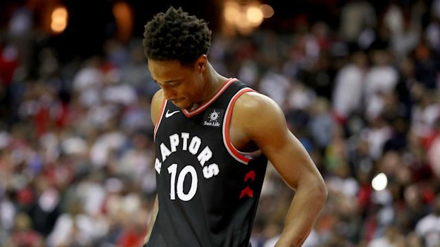 The Spurs and Raptors have completed a trade involving Kawhi Leonard and DeMar DeRozan, but both stars aren't exactly excited about the idea of switching cities.