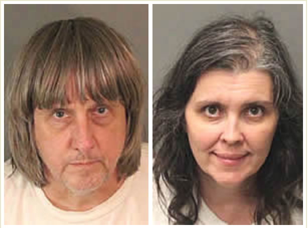 'Depraved Conduct.' The Parents of 13 Malnourished Children Found in Captivity Could Face Life in Prison