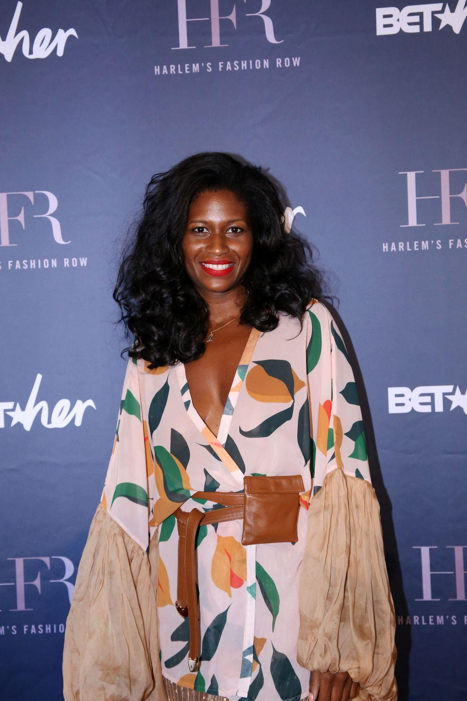 <p><strong>Brand</strong>: Fe Noel</p><p>Beautiful robes, swimsuits, and ready-to-wear from designer Fe Noel will literally make your life a happier place. You'll fall in love with the stunning, vacation-worthy prints, like the one on the robe she's wearing here. </p>
