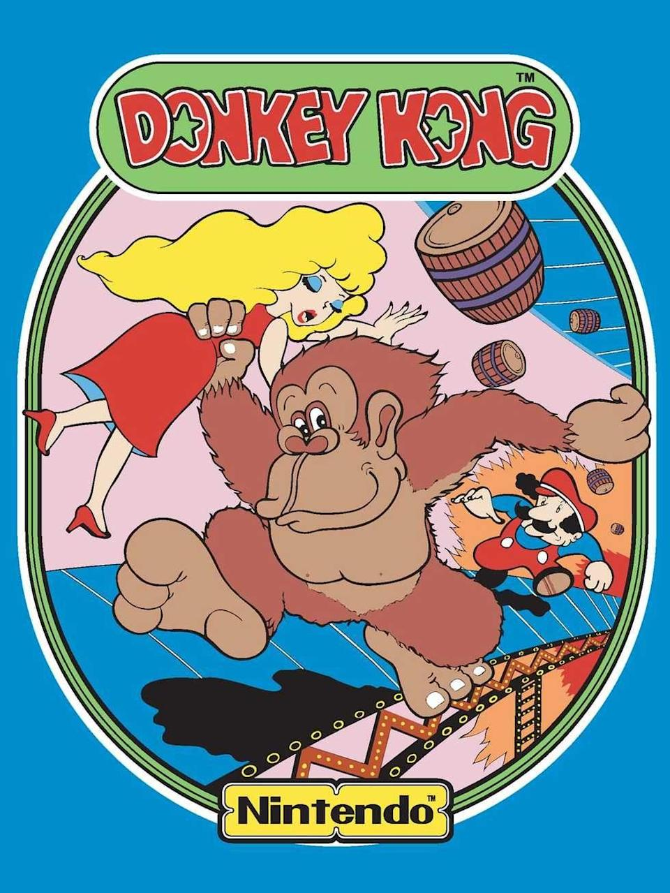 "<p>The year 1981 was such an explosion of arcade classics that picking one almost feels criminal, but no game would introduce such lasting characters as <em>Donkey Kong</em>. The titular enemy Donkey Kong, along with an unnamed carpenter (not plumber), would create Nintendo's lasting cast of characters. The game <em>Donkey Kong</em> was also one of the world's first platformers and a game where <a href=""http://donkeykongforum.com/index.php?topic=2056.0"" rel=""nofollow noopener"" target=""_blank"" data-ylk=""slk:high score records"" class=""link rapid-noclick-resp"">high score records</a> are still being broken to this day.</p><p><a class=""link rapid-noclick-resp"" href=""https://www.amazon.com/Nintendo-Entertainment-System-NES-Classic/dp/B01IFJBQ1E/?tag=syn-yahoo-20&ascsubtag=%5Bartid%7C10054.g.2871%5Bsrc%7Cyahoo-us"" rel=""nofollow noopener"" target=""_blank"" data-ylk=""slk:PLAY NOW"">PLAY NOW</a></p>"