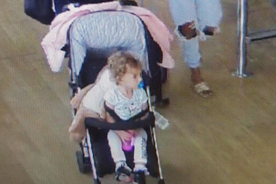 Gracie-May Rogers and her parents Kelly Gibson and Lee Rogers are believed to have boarded a flight to Alicante, Spain (Lancashire Police/PA) ((Lancashire Police/PA))