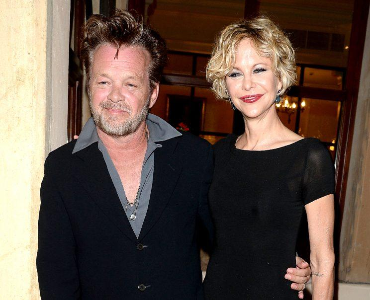 John Mellencamp and Meg Ryan looked happy together in Italy back in 2013. (Photo: Venturelli/Getty Images)
