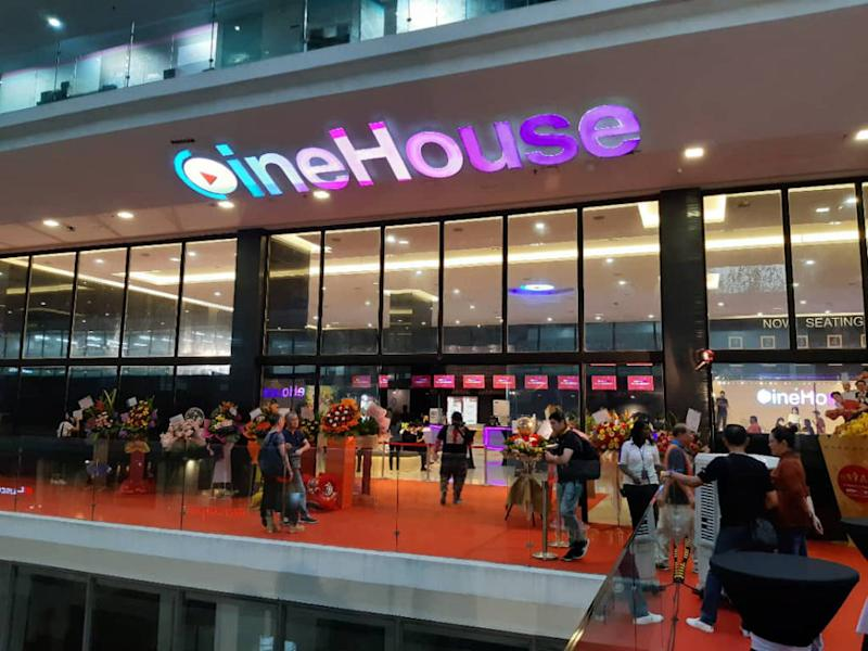 Cinehouse is new to the cinema industry in Malaysia.