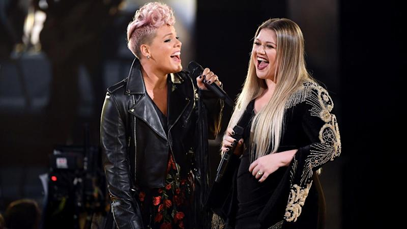 2017 American Music Awards: Why Pink and Kelly Clarkson Singing REM's 'Everybody Hurts' Is the Perfect Opening