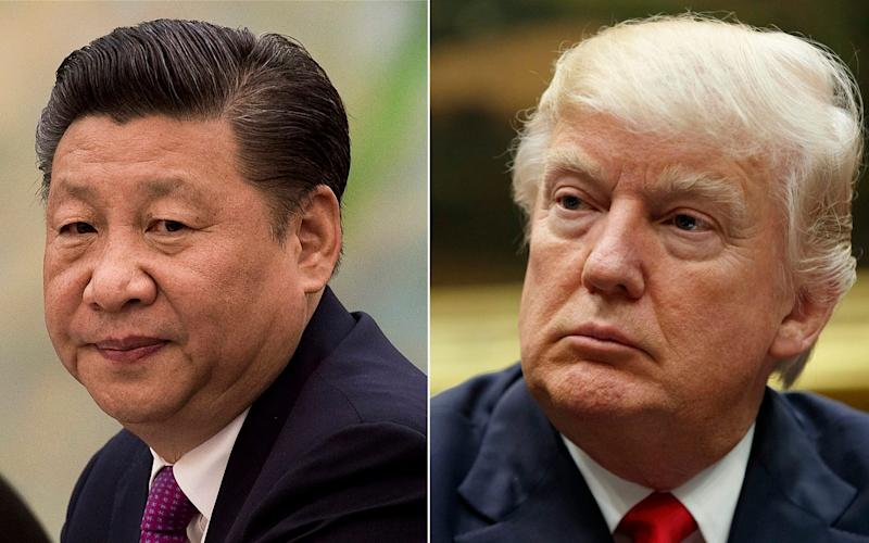 Donald Trump has stepped up his attacks on President Xi Jinping in recent weeks over the coronavirus pandemic - AP/AP