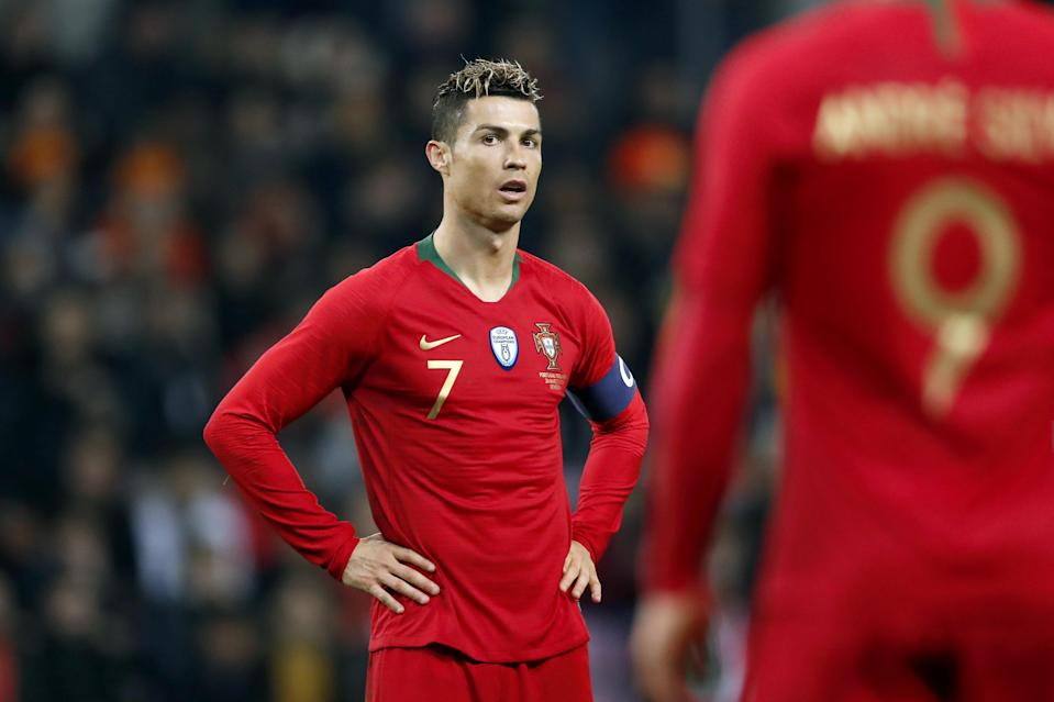 Cristiano Ronaldo and Portugal are the defending European champions. Can they repeat the feat at the World Cup? (Getty)