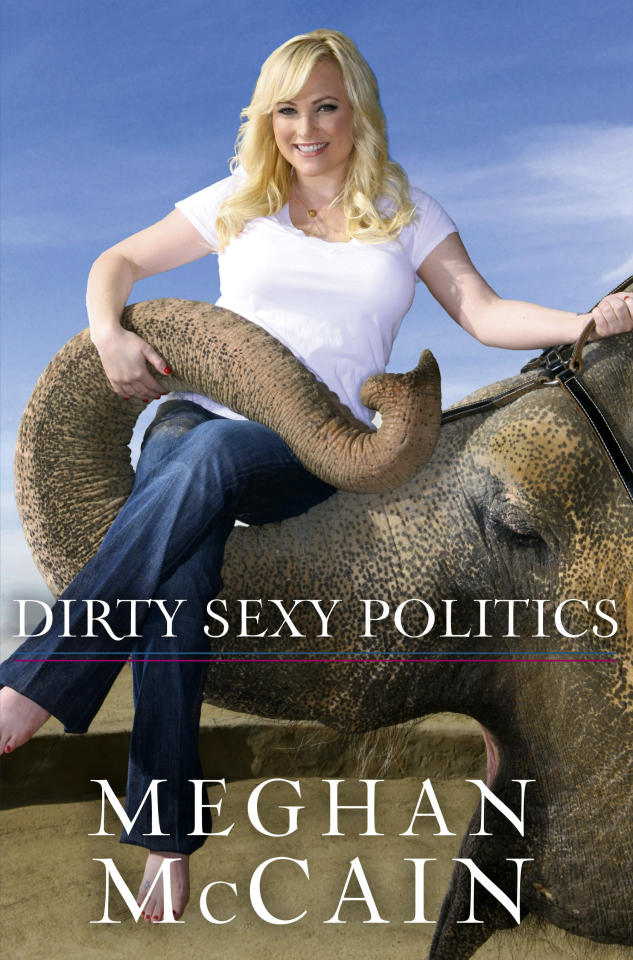 "This book cover released by Hyperion shows the cover of ""Dirty Sexy Politics,"" by Meghan McCain. McCain is trying to establish herself as a bold voice for young, disaffected, socially moderate Republicans just like her."