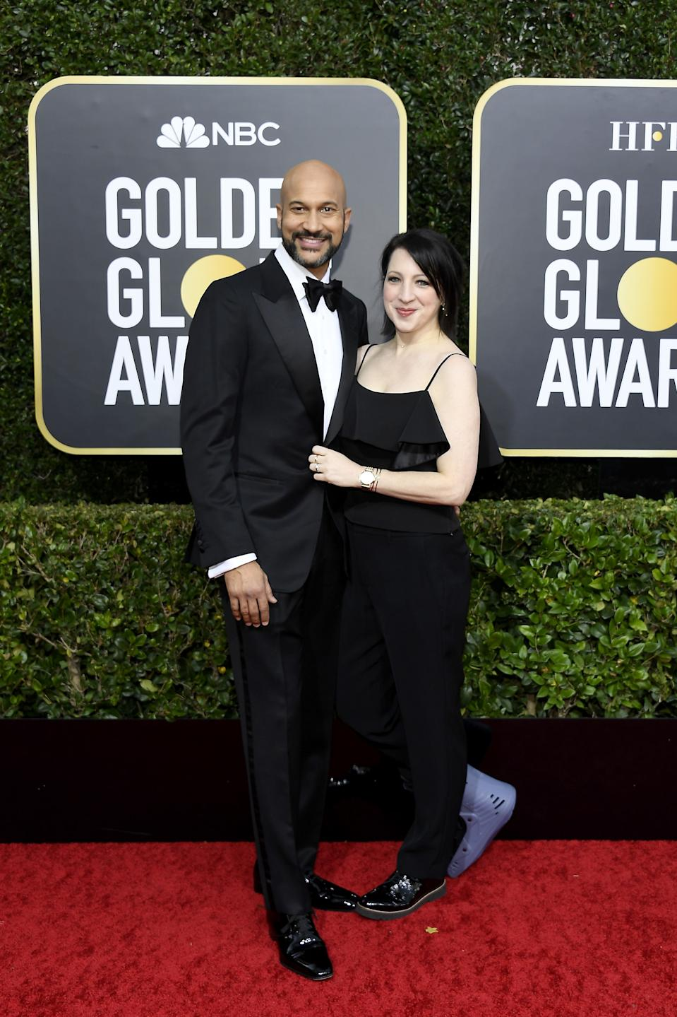 "<h1 class=""title"">Keegan-Michael Key and Elisa Pugliese</h1><cite class=""credit"">Photo: Getty Images</cite>"