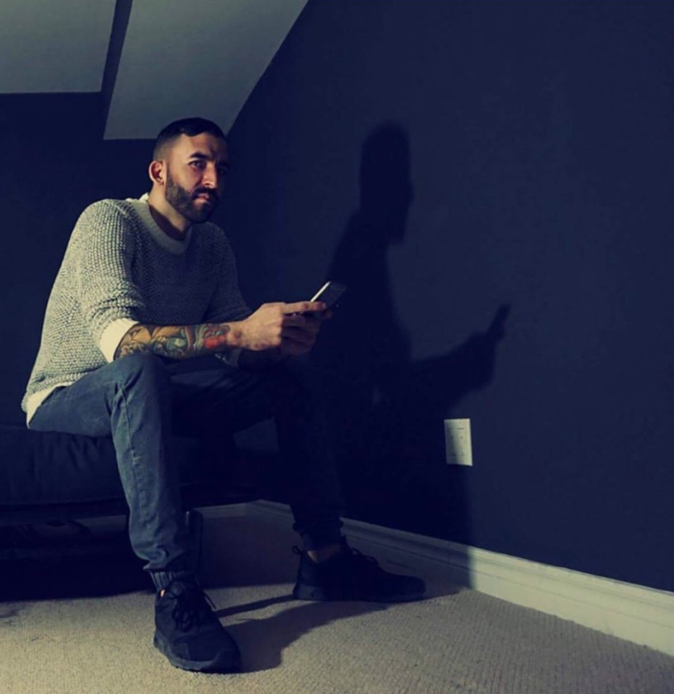 Jory Katz shares his experience living with anxiety as part of <em>Yahoo Canada's</em> month-long mental health series. Image courtesy of L.A. West