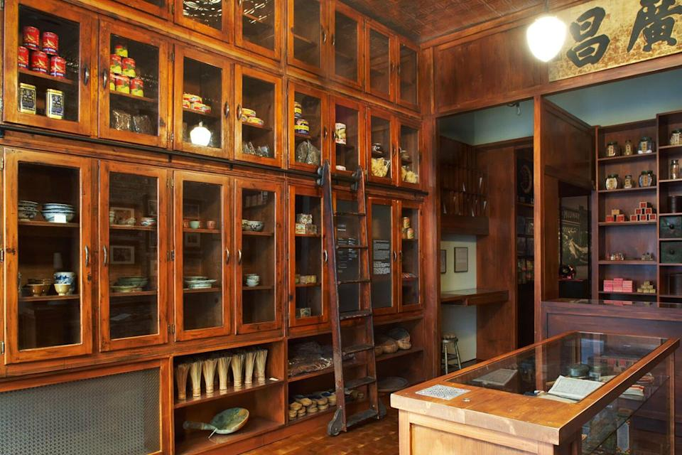 General Store interior at Museum of Chinese in America