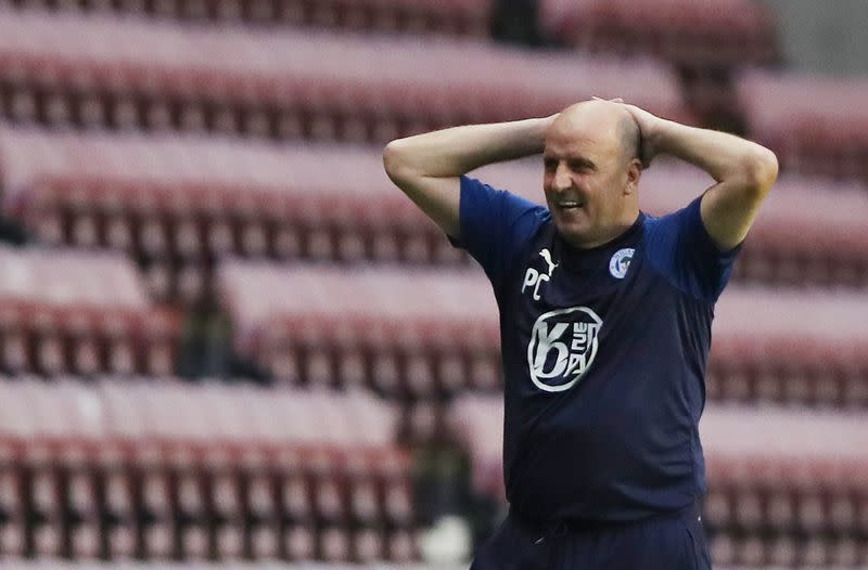 Cook resigns as manager of relegated Wigan Athletic
