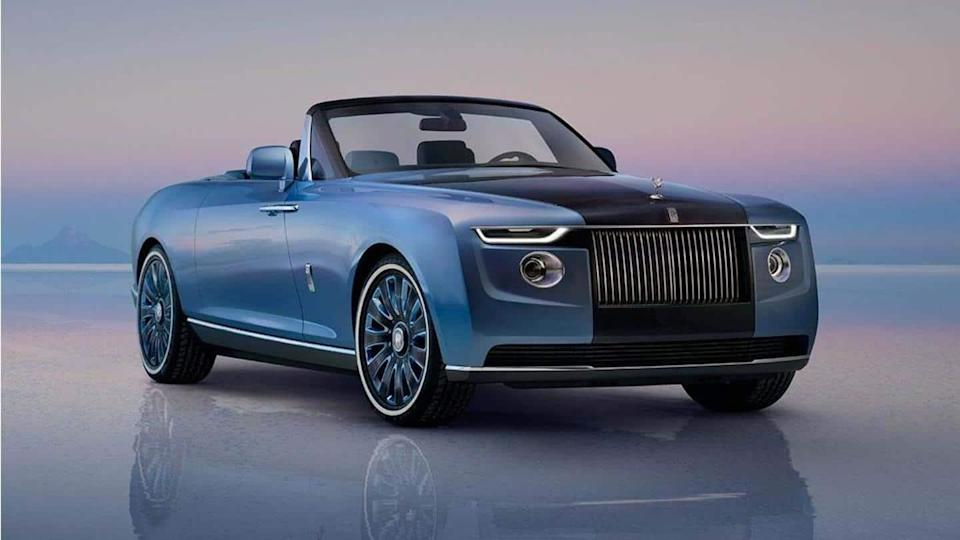 Rolls-Royce unveils a bespoke and decadent Boat Tail convertible