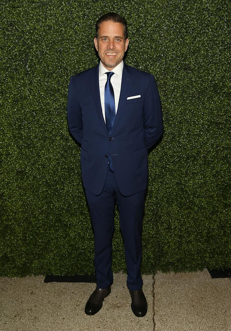 """Hunter Biden opens up about battling addiction and how painting is keeping him """"sane."""" (Photo: Getty Images)"""