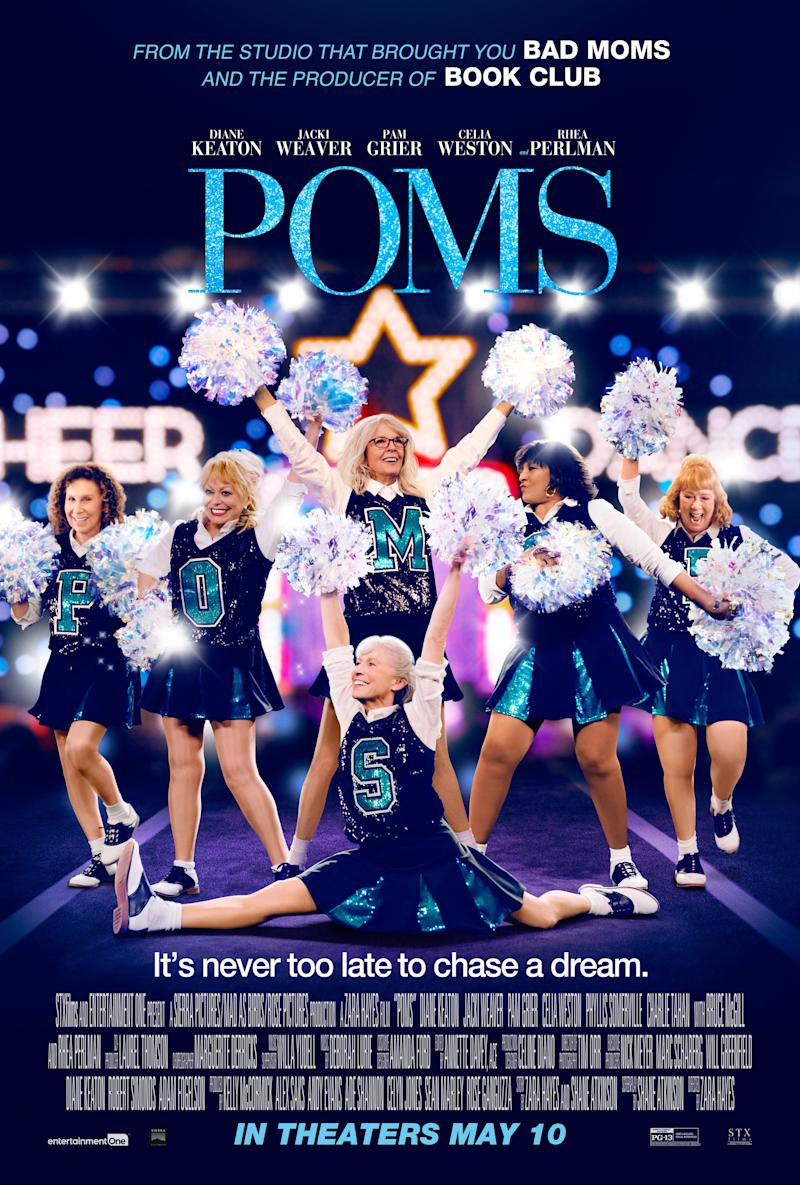 Poms has yet to be released in the UK. (STX)