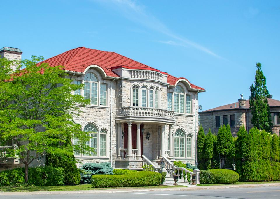 Luxury house in Montreal (Getty)