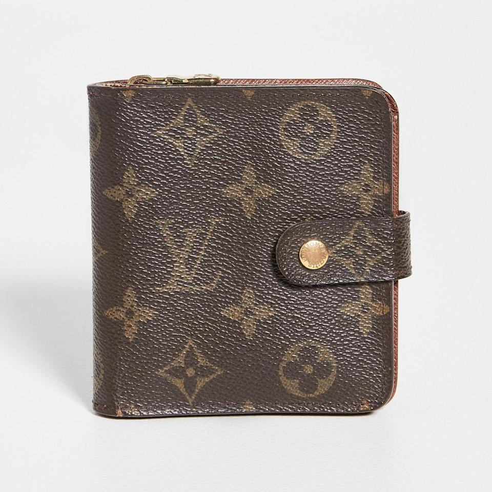 """Of course, Louis Vuitton wallets—whether new or vintage, like this one—will always be in style. If you have some money to spend, this Monogram piece is as timeless as it gets. $665, Shopbop. <a href=""""https://www.shopbop.com/louis-vuitton-compact-zippy-monogram/vp/v=1/1513244257.htm"""" rel=""""nofollow noopener"""" target=""""_blank"""" data-ylk=""""slk:Get it now!"""" class=""""link rapid-noclick-resp"""">Get it now!</a>"""