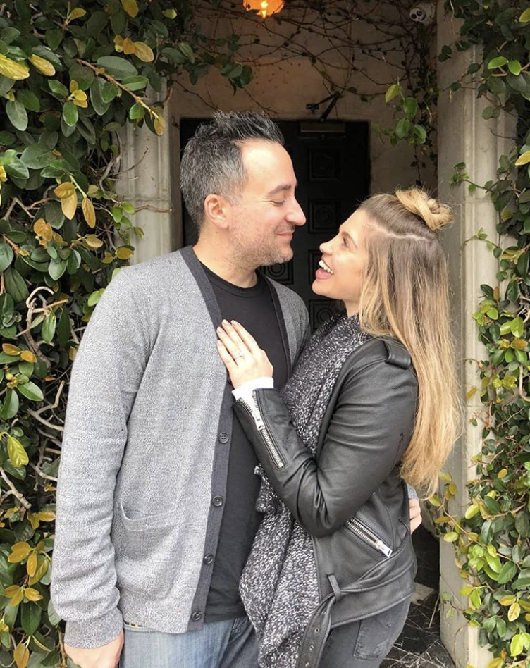 "<p>Sorry Topanga fans, this girl is off the markert! ""I woke up today thinking it would be a normal day and it was anything but normal,"" the<em> Girl Meets World</em> star captioned this shot with her now-fiancé, <em>Drop the Mic</em> executive producer Jensen Karp. ""I put on my Genghis Cohen t-shirt and went to see @jensenclan88 at work where I proceeded to screw up a very romantic marriage proposal by being too efficient (this is very on brand for me). The future Mr. and Mrs. Karp are now engaged and no one is more excited than I am."" (Photo: <a rel=""nofollow"" href=""https://www.instagram.com/p/BgpZ7y7l_c7/?taken-by=daniellefishel"">Danielle Fishel via Instagram</a>) </p>"