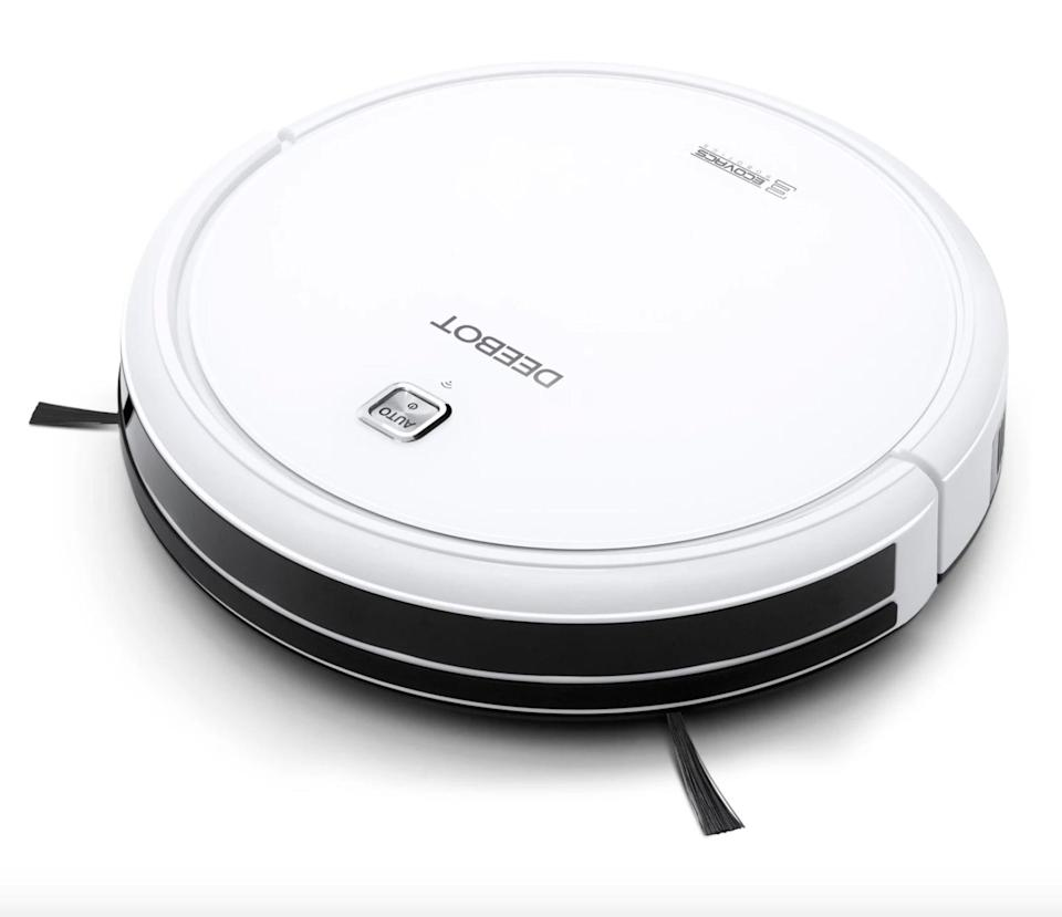 <p><span>Ecovacs Deebot Multi-Surface Robot Vacuum Cleaner With App Control</span> ($200, originally $280)</p>