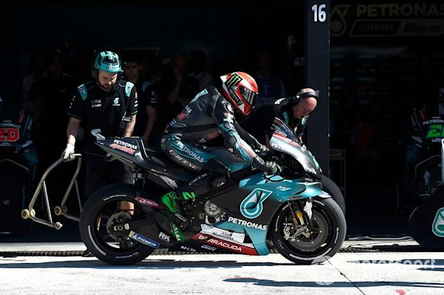 "Franco Morbidelli, Petronas Yamaha SRT <span class=""copyright"">Gold and Goose / Motorsport Images</span>"
