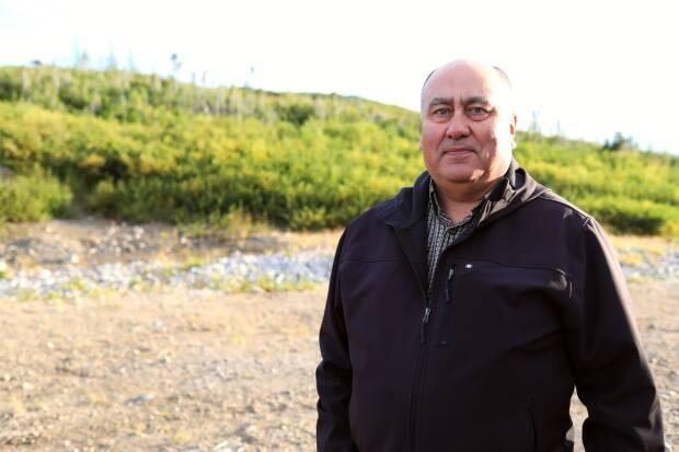 Barry Andersen makes sure searches are safe and follow policies and procedures in Makkovik, Labrador, through his role as community constable and search and rescue coordinator.  (Heidi Atter/CBC - image credit)