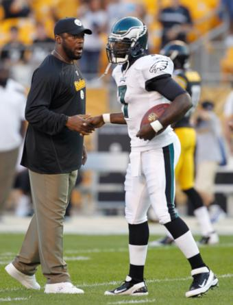 finest selection 3e195 b929b Michael Vick would've been a Steeler if Mike Tomlin had his way
