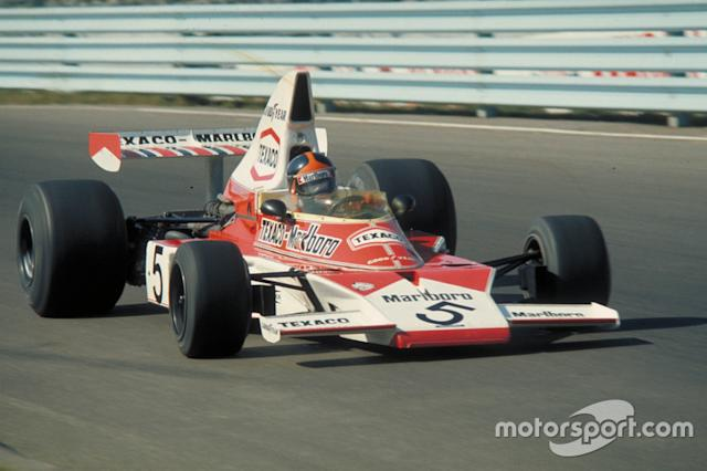 """Emerson Fittipaldi (1972, 1974) <span class=""""copyright"""">Ford Motor Company</span>"""