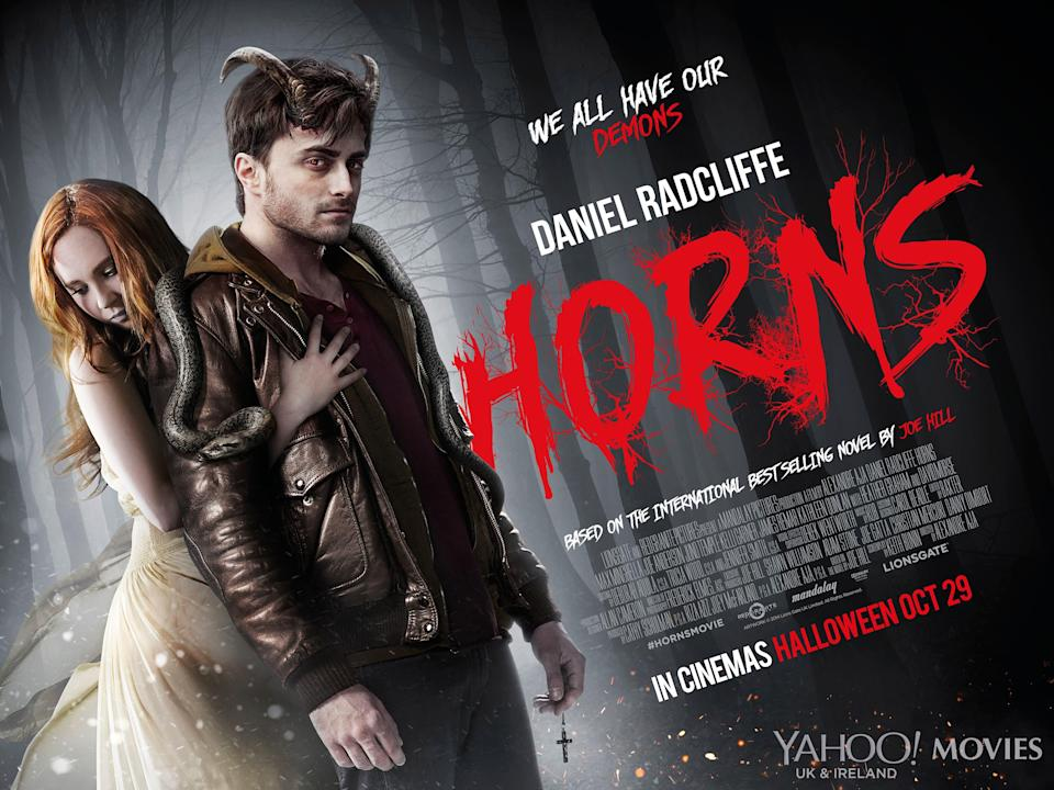 Horns Main UK Poster