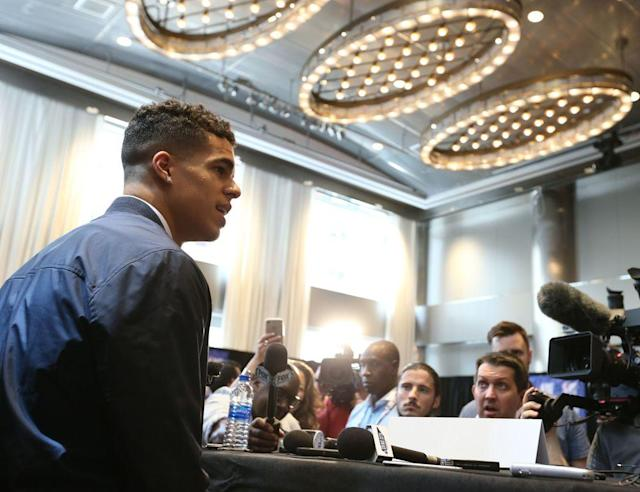 With the NBA draft on the horizon, top prospects descended on New York City. The Crossover's Front Office has the sights and sounds from media day.