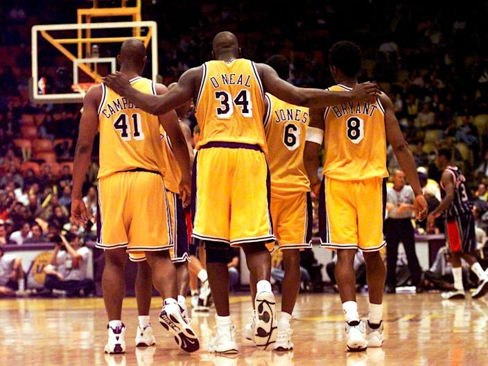 Los Angeles Lakes Kobe Bryant Shaquille O'Neal