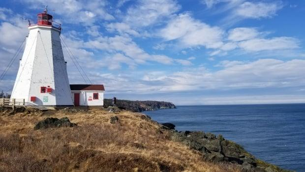 The Swallowtail lighthouse on Grand Manan is a popular tourist site for people visiting New Brunswick. (Shane Fowler/CBC - image credit)