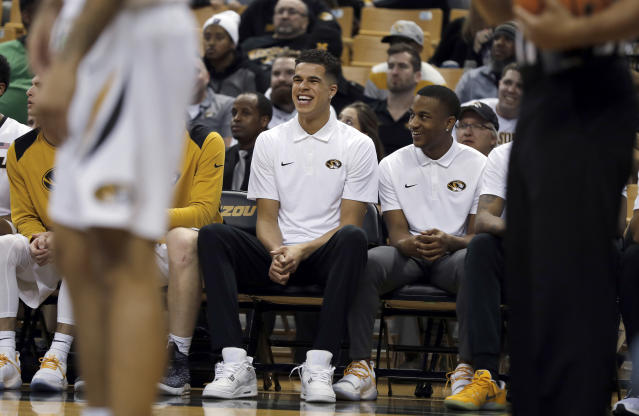 Michael Porter Jr's comeback is on hold again with the freshman now targeting a return for the SEC Tournament. (AP Photo)