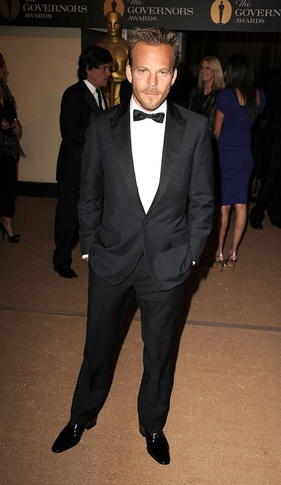 """<a href=""""http://movies.yahoo.com/movie/contributor/1800020665"""">Stephen Dorff</a> attends the 2nd Annual AMPAS Governors Awards in Los Angeles on November 13, 2010."""