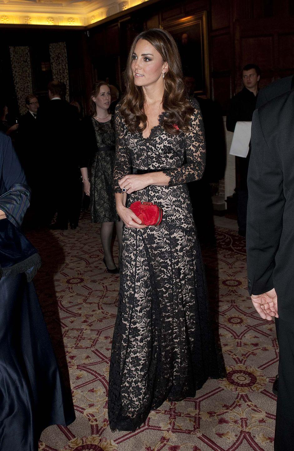 <p>She wore it a second time to grace a 600th anniversary reception and dinner for St. Andrews in London. </p>
