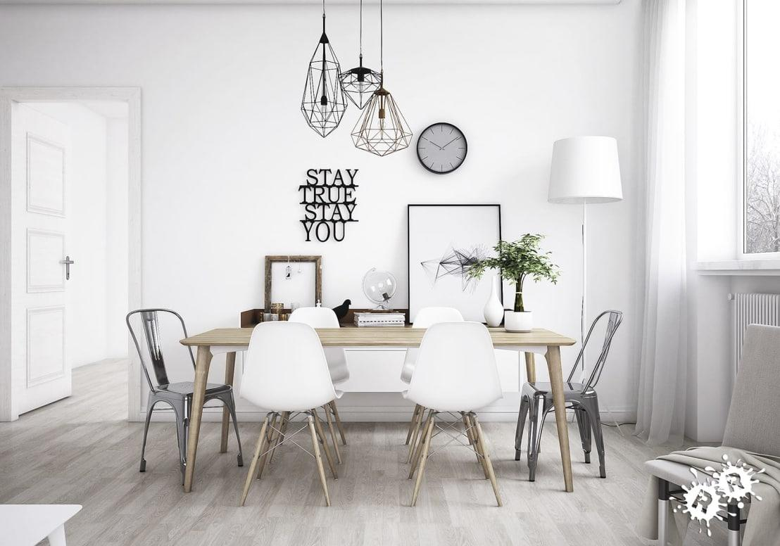 "<p>It's not just <a rel=""nofollow"" href=""https://www.homify.co.uk/professionals/interior-designers-decorators-in-london"">fancy-shmancy London-based interior designers</a> that are massive fans of all-white interiors, as anyone looking to use a little less electricity should love the look too! Naturally capturing sunlight and bouncing it around, a white interior will let you really stretch out how much time you can go without the lights on. </p>  Credits: homify / Rimini Render"